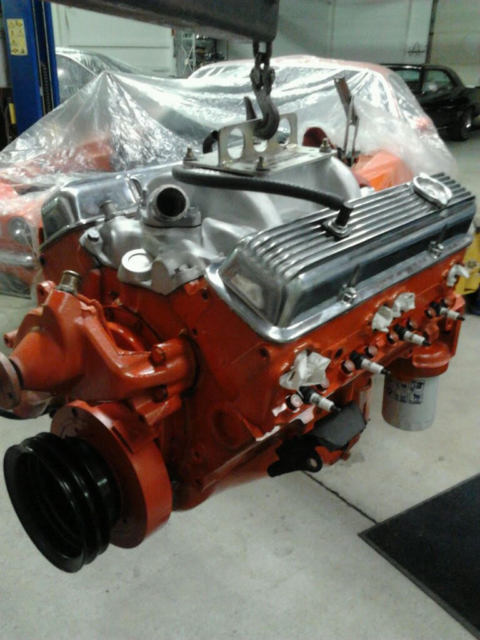 NUMBERS MATCHING LT1 SOLID LIFTER ENGINE, 12 BOLT COZ 3:73 POSI, M21