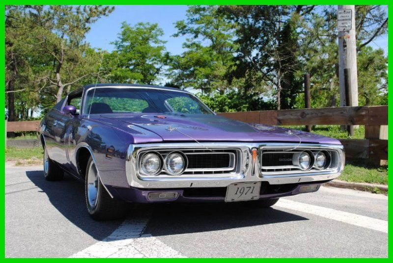 1971 Dodge Charger R/T 440 SIX PACK 7.2 V8 B-Body 3rd Gen 71 1971