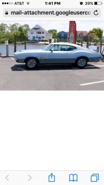 1971 Oldsmobile 442 455 Engine V8