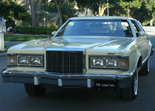 1977 Mercury Cougar COUPE - ONE FAMILY - 60K MILES