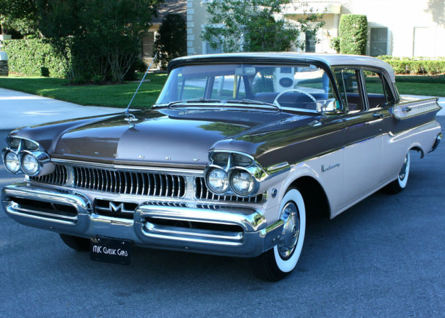 1957 Mercury Monterey ONE FAMILY