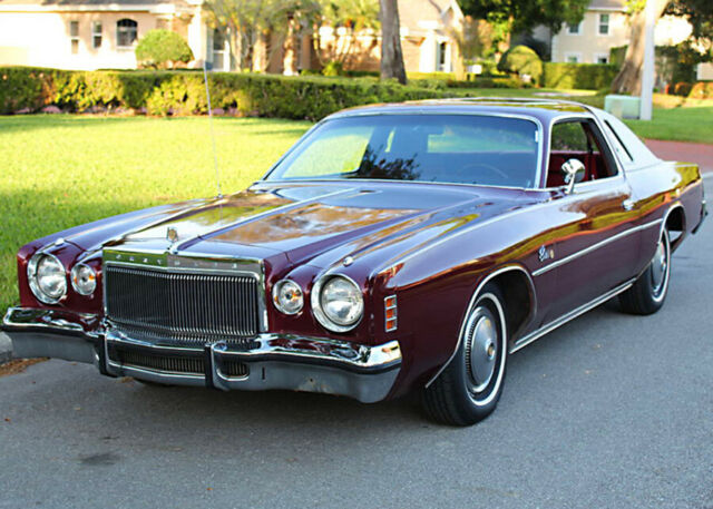 1976 Chrysler Cordoba COUPE - ONE FAMILY - 360 V-8 - 27K MI