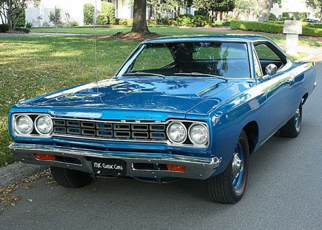 1968 Plymouth Road Runner HEMI  V-8 - ONE OF 61 - ROSTISSERIE