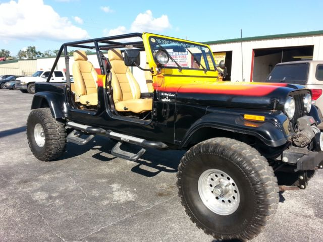 One Of A Kind Jeep Cj7 4x4 With A Corvette Engine For Sale