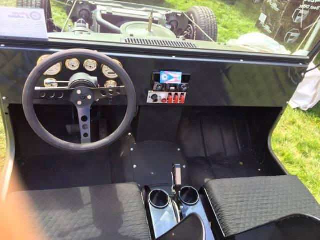 one of a kind jeep wrangler hotrod rat rod for sale