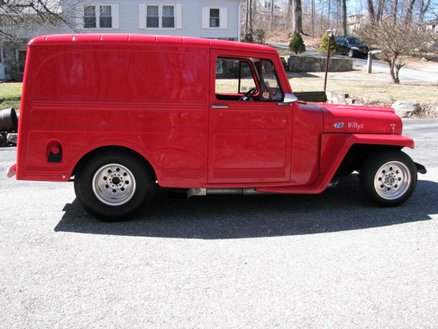 1962 Willys Panel Delivery  Prostreet