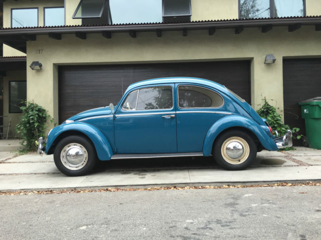 kind restored vw beetle original factory paint color  finishes  sale
