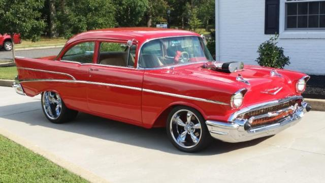 one of a kind tri five 1957 chevrolet 210 custom not your dads 57 chevy for sale photos. Black Bedroom Furniture Sets. Home Design Ideas