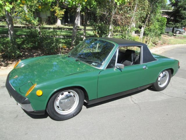 1970 Porsche 914 Irish Green Rust Free California Survivor