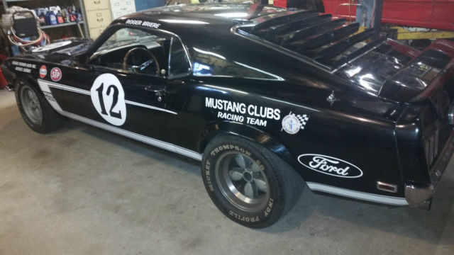 1969 Ford Mustang True Boss 302 Race Car