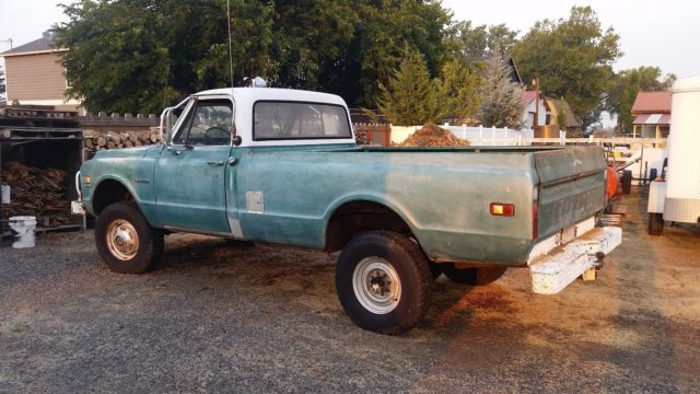1971 Chevrolet Other Pickups C-20 K20 4x4 4WD Pickup Truck
