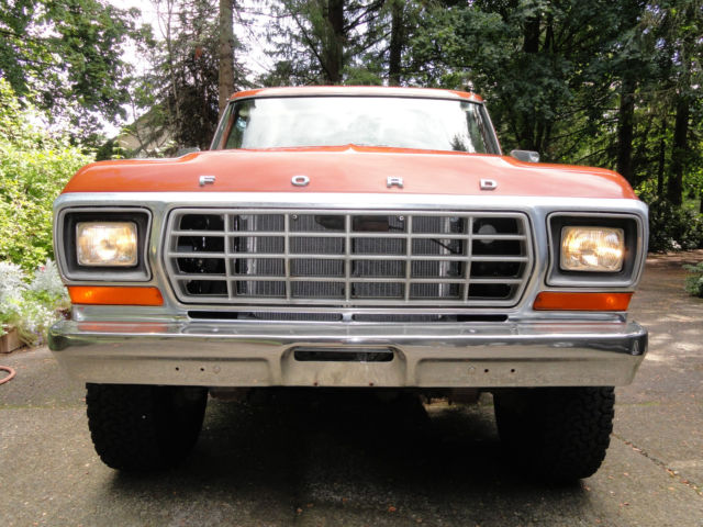 1979 Ford F-250 Camper Special