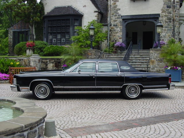 One Owner 1979 Lincoln Town Car Garaged Since New Original Continental 1977 1978 For Sale Photos Technical Specifications Description