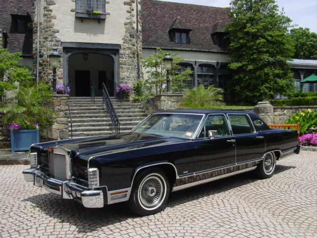 One Owner 1979 Lincoln Town Car Garaged Since New Original Continental 1977 1978 For Sale