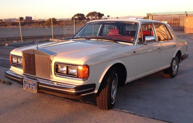 1981 Rolls-Royce Silver Spirit/Spur/Dawn 4 door sedan