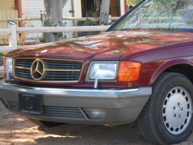1986 Mercedes-Benz 500-Series 560 SEC