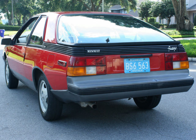 1982 Renault Other FUEGO TURBO - ONE OWNER - 35K MILES