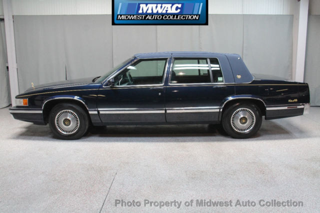 1993 Cadillac DeVille SPRING EDITION ONE OWNER GOLD PACKAGE CARRIAGE TOP