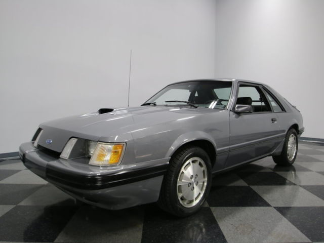 1985 Ford Mustang SVO Hatchback 2-Door