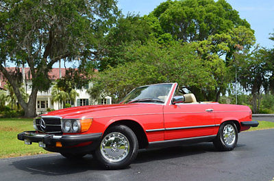 1984 Mercedes-Benz SL-Class 380 SL 2-Door Roadster