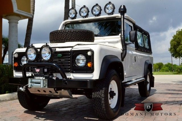 1989 Land Rover Defender Beachcomber w/ Air Conditioning