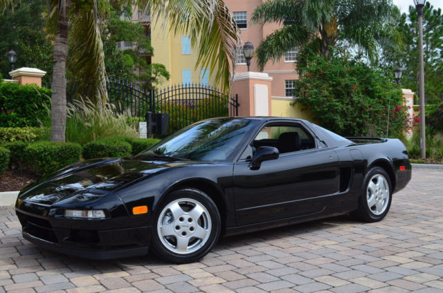 1991 Acura NSX 2dr Coupe Sport Automatic W/5K Miles