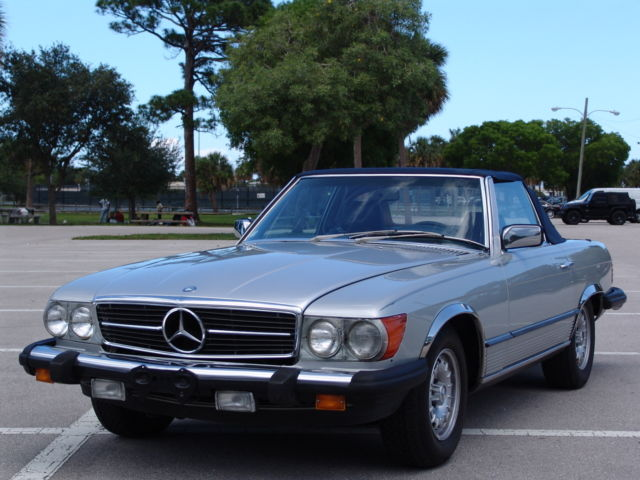 1985 Mercedes-Benz SL-Class 380SL CONVERTIBLE LOW MILES V8 HARD TOP BEAUTIFUL