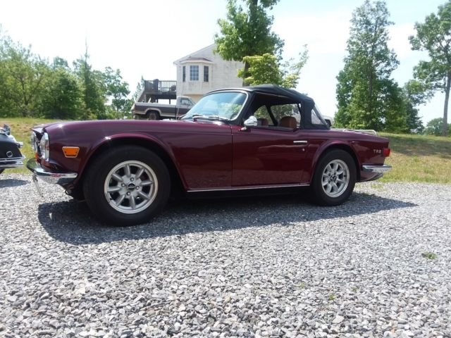 1971 Triumph TR-6 TOP OF THE LINE