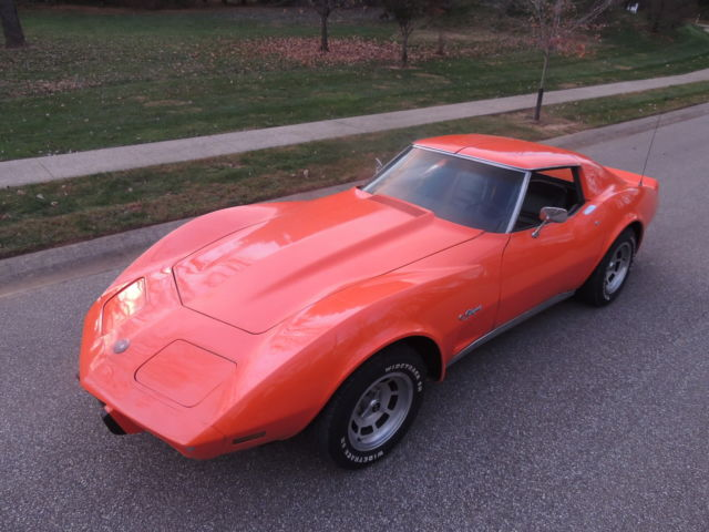 1976 Chevrolet Corvette Custom Leather