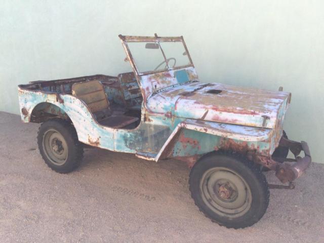 Original 1943 Ford Gpw Jeep Willys Mb Ww2 Military Cj2a Cj3a M38 4x4