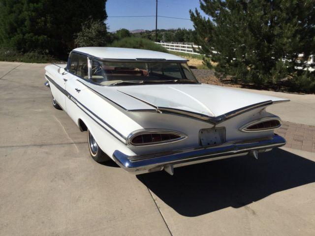 Original 1959 chevrolet impala 4 door sedan with original for Original photography for sale