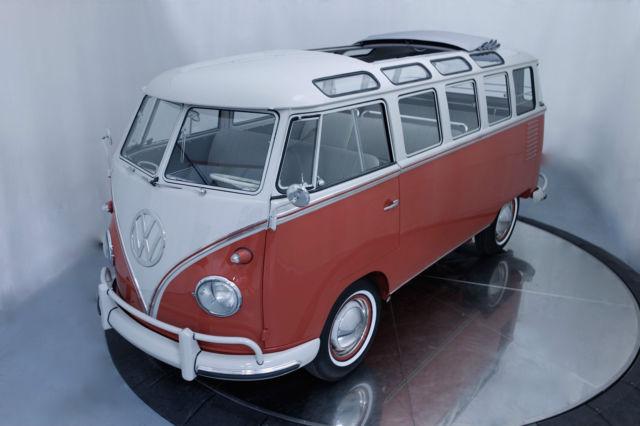 Original 1959 Vw 23 Window Deluxe Samba Bus Volkswagen For