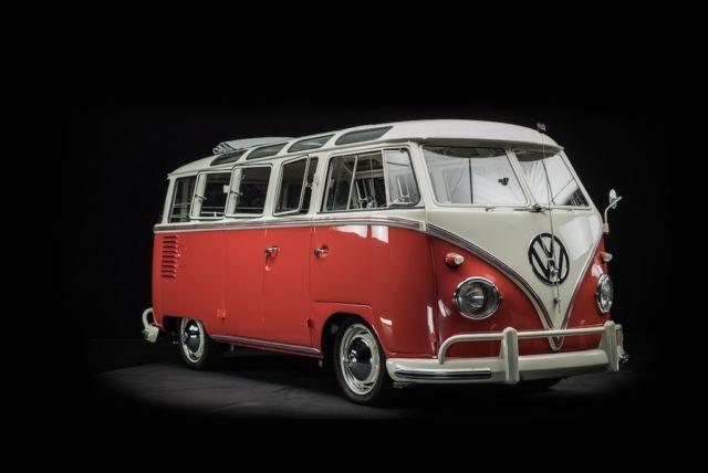 Original 1959 Vw 23 Window Deluxe Samba Bus Volkswagen Rare