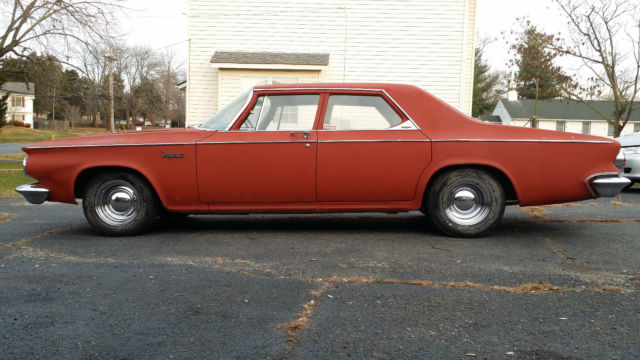 1963 Chrysler Newport Big Block Stick Shift
