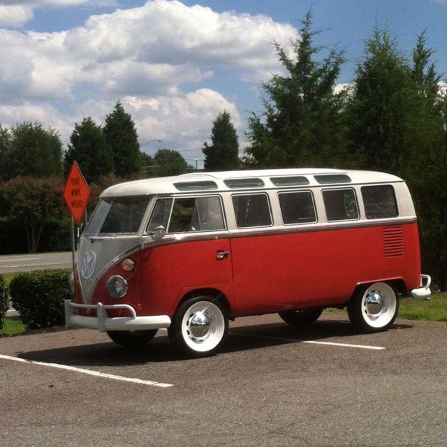Original 1964 21 Window VW Volkswagen Bus Type 2 Samba for sale: photos, technical