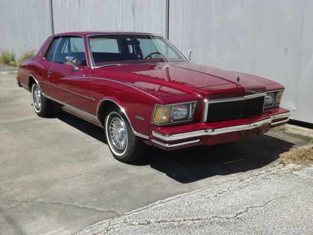 Original 2 owner 78 Chevy Monte Carlo classic like it came