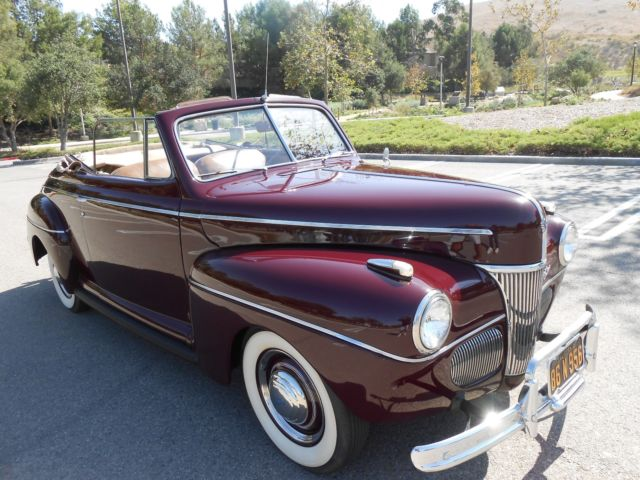 1941 Ford Other Super Deluxe Convertible Unmolested ...