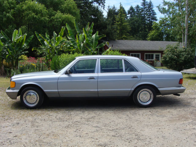 1984 Mercedes-Benz 500-Series 500SEL