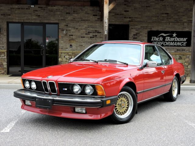 1986 BMW 6-Series 635 CSI