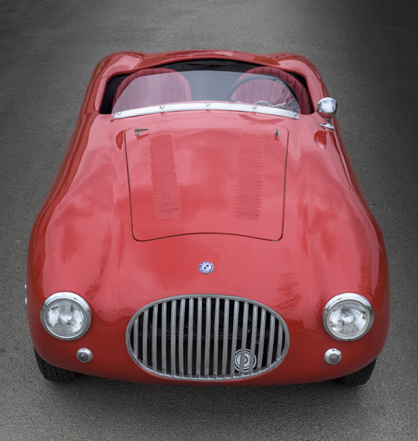 OSCA 1500 Cc Maserati Barchetta, Body By Balestra 1955