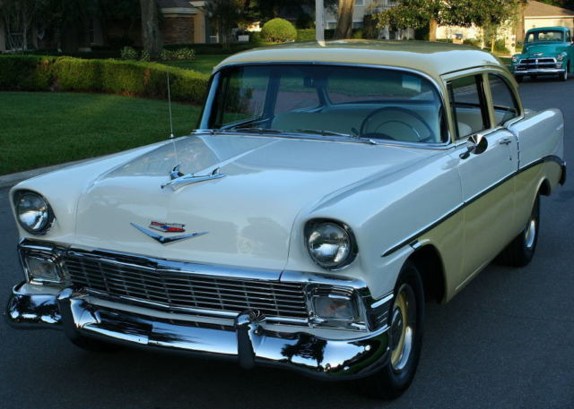 1956 Chevrolet Bel Air/150/210 CLUB COUPE - A/C - V-8 - 2K MI