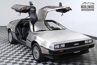 1981 DeLorean DeLorean, 22,000 Orig Miles 2-owner RARE!