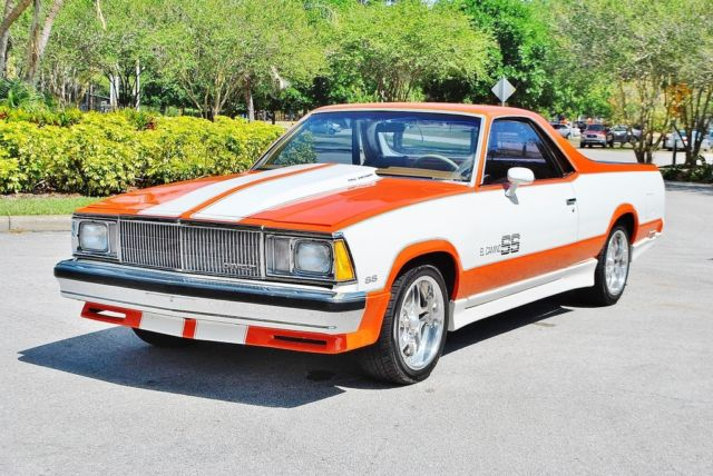 1980 Chevrolet El Camino Best you will find in U.S frame up Truly Amazing