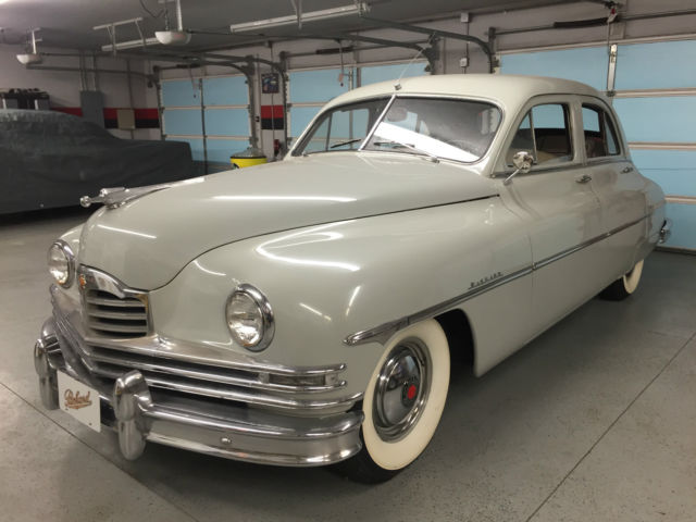 1950 Packard Deluxe Eight Automatic Chrome