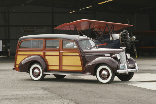 1939 Packard J.T. Cantrell Station Wagon Woody