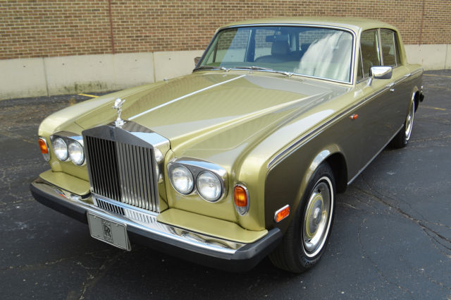 1979 Rolls-Royce Silver Shadow II : rare colour combination