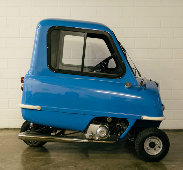 PEEL P50 | World's Smallest Production Car | Top condition ...