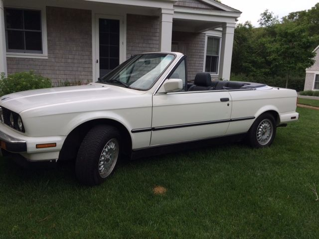 1990 BMW 3-Series convertible