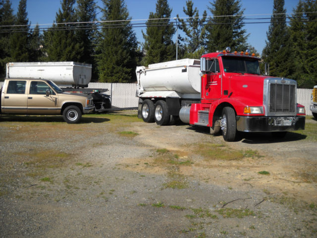 1994 Other Makes PETERBUILT 377 T/A DUMP TRUCK w.TRAILER