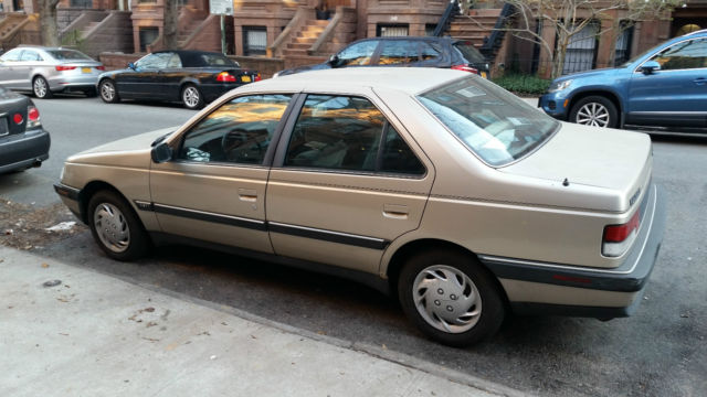 Used Cars Knoxville Tn >> Peugeot 405 DL - Gold for sale: photos, technical ...